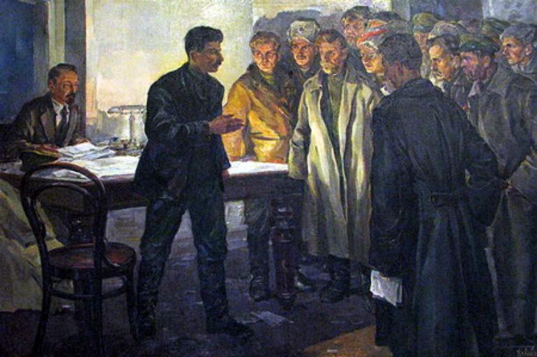 Сталин в городе