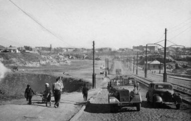 Загадки нашего городка. Трамвай у Бальфуровского моста