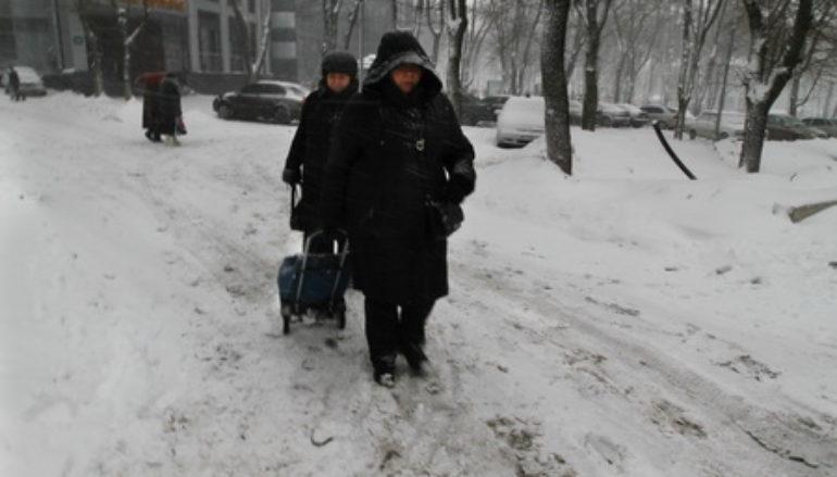 Самый снежный день