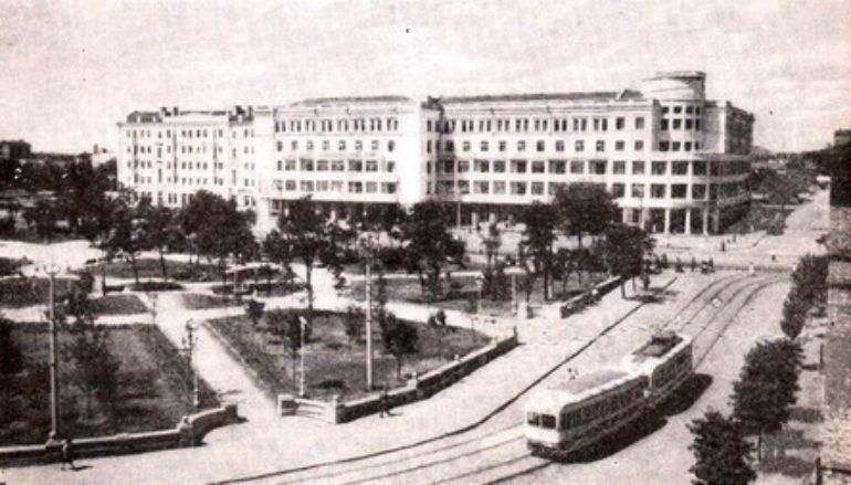 Площадь Ленина. Точка отсчета