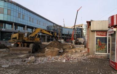 Реконструкция вокзала: блеск и хаос