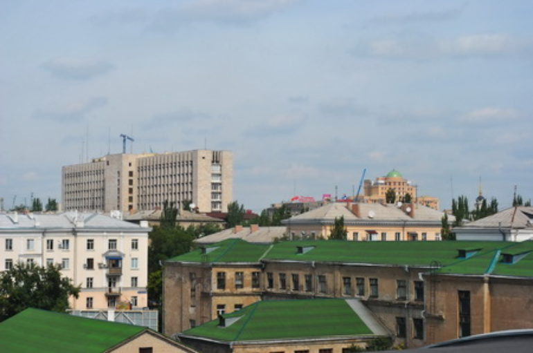 Крыши Анны Манухиной