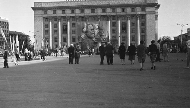 Площадь Ленина. 1963-й