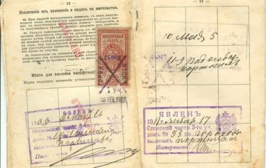 Паспортная система в Юзовке