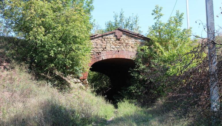 Старый  Богодуховский туннель