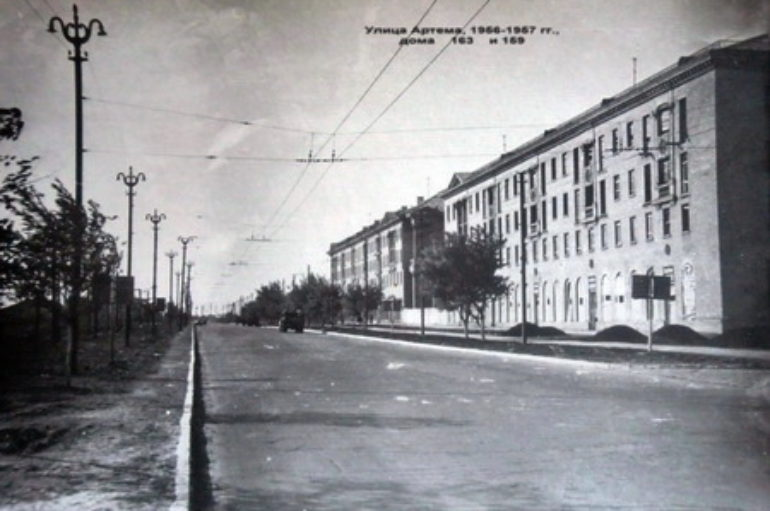 Звенящая пустота улицы Артема