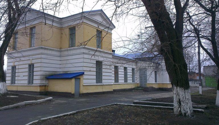 Фото станции Мушкетово. Восьмое декабря 2012 года.