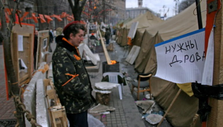 Дрова для Майдана