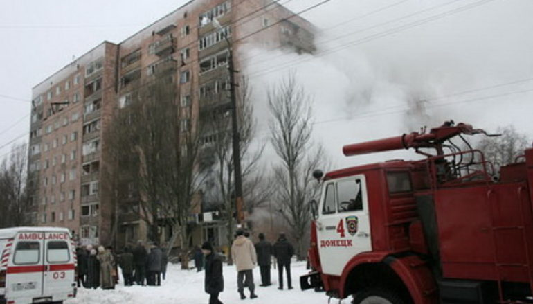 Взрыв на Кедрина