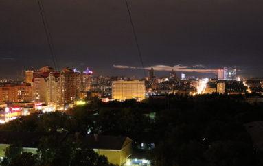 Ночь. «Грузия». Донецк