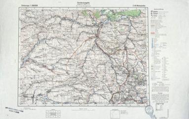 Немецкие карты 1941-1943 годов