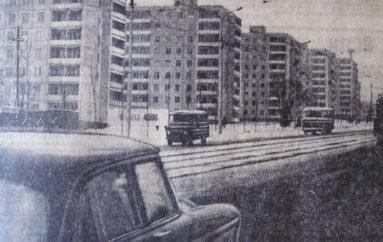 Ленинский проспект: шаги через лужи