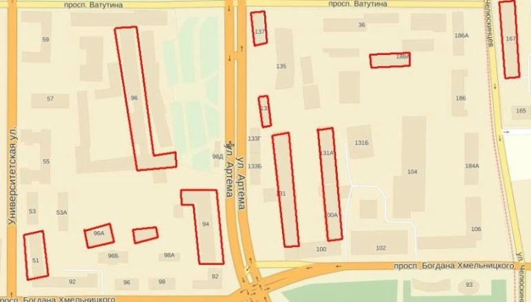 Страшная тайна улицы Артема