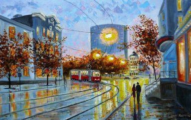 Донецк в живописи от Юлии Киселевой