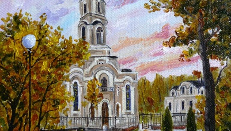 Донецк в живописи от Юлии Киселевой. Часть 2