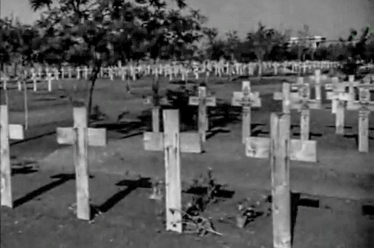 Немецкое кладбище: раскадровка