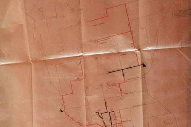 Подземные сети города Сталино