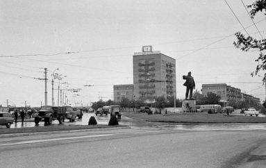 Рождение Шахтерской площади: островок