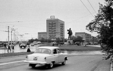 Рождение Шахтерской площади: фотоэволюция