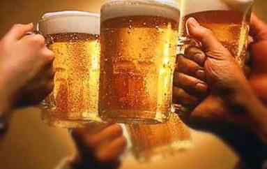 Два образа пива