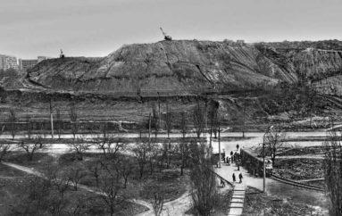 Обрезание террикона шахты 5-6