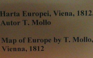 Карта Т. Молло. 1812 г.