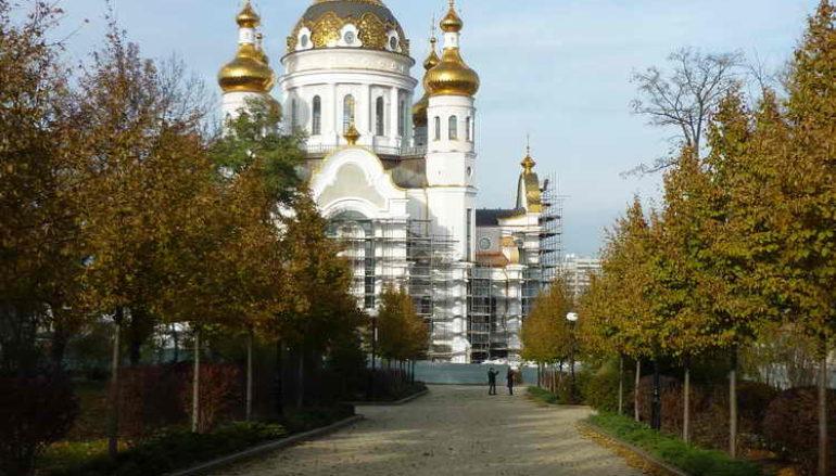 Храм в ноябре