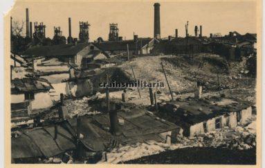 Город Сталино образца 1942 года
