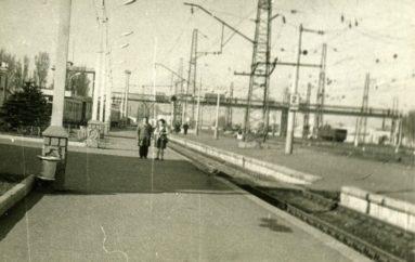 Мост над железнодорожной рекой