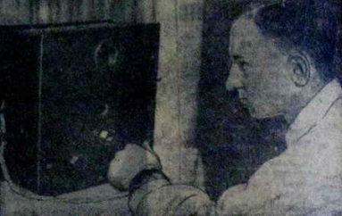 Первый телевизор города Сталино