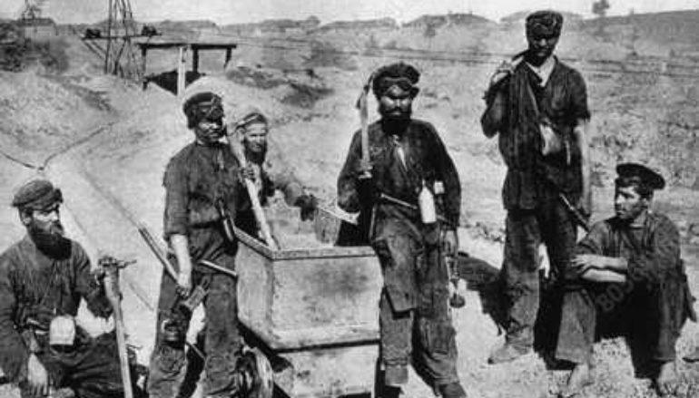 Как при Деникине уголь рубили