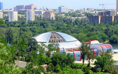 Круговая панорама аквапарка