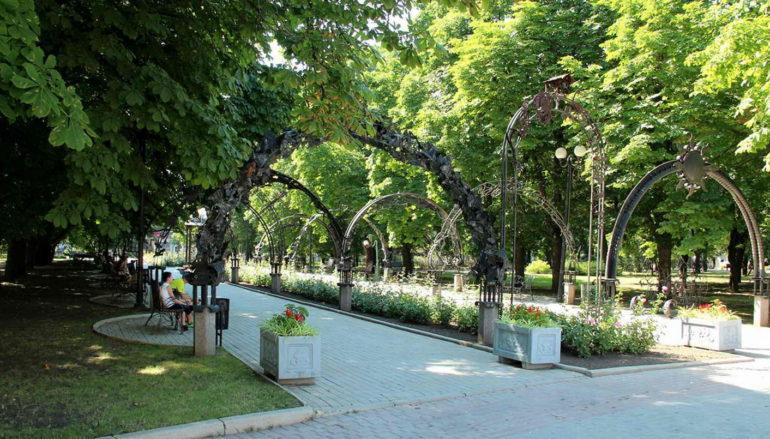 Парк кованых фигур – круговые панорамы