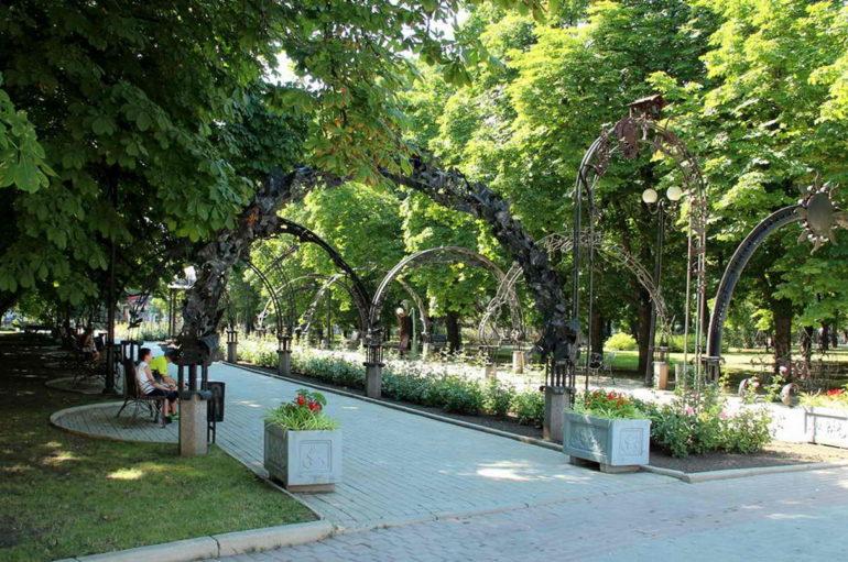Парк кованых фигур — круговые панорамы