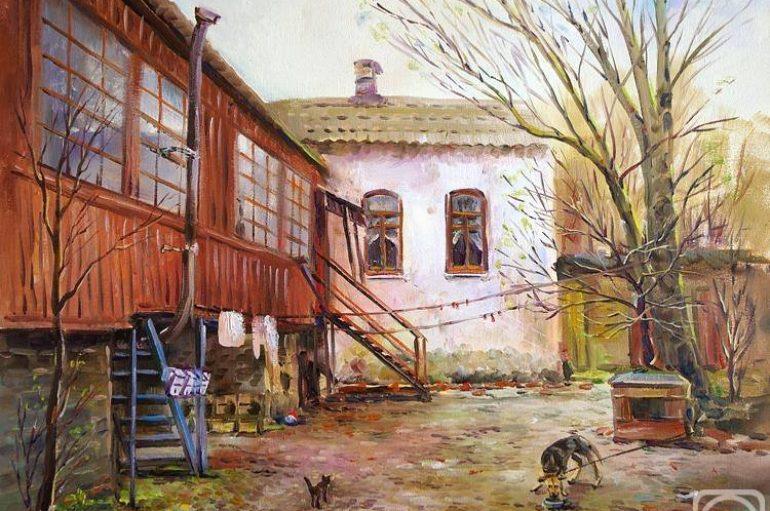 Милые сердцу старые дворики