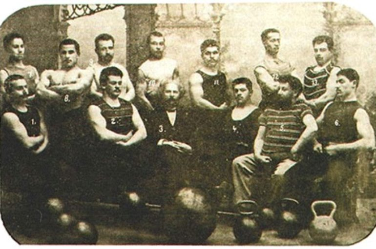 Донецкая тяжелая атлетика. Часть 1