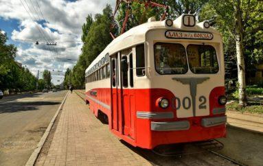 На маршруте – ретро-трамвай