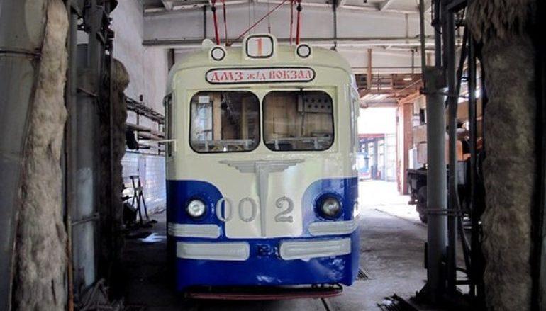 Первый трамвайный год