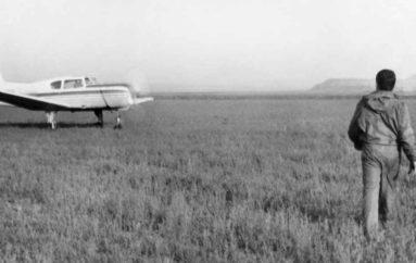 Самолет у частокола