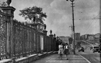 Ограда Горсада после переезда