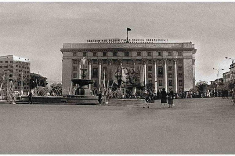 Площадь Ленина. 1963-й. Панорама