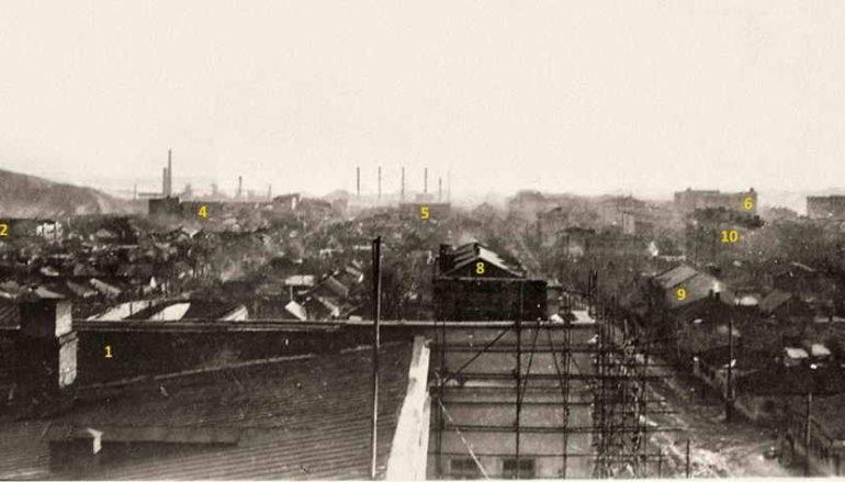 Три вида с крыши Дома госучреждений