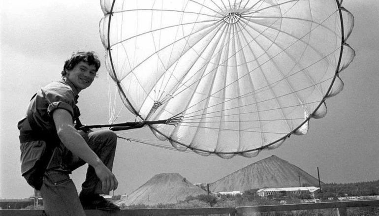Страх и страсть парашютной вышки