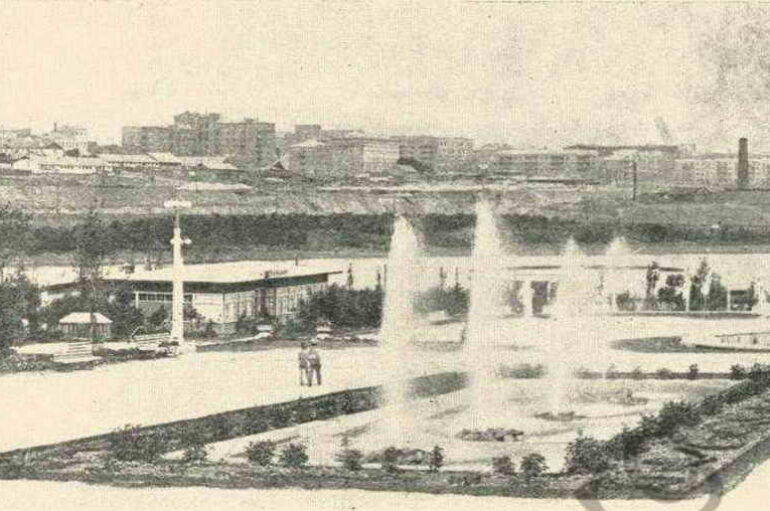 Каскады парка Щербакова