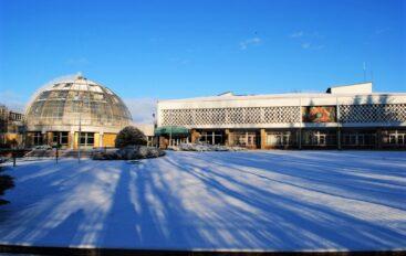 Ботсад в снегу