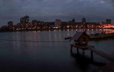 Штрихи вечернего города