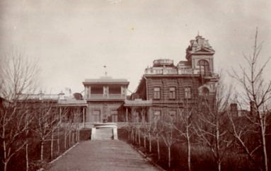 Фонтан в имении Арчибальда Бальфура