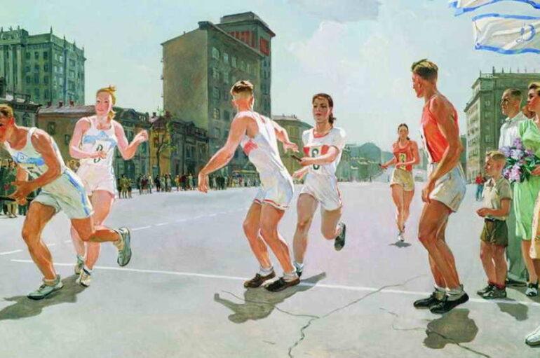 Спортивные праздники Сталино