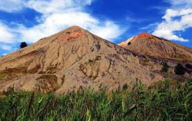 Вокруг терриконов шахты Челюскинцев